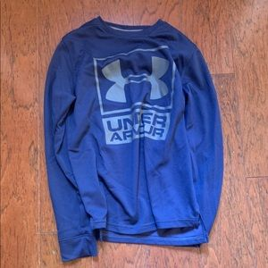Under armour blue long sleeve nwot